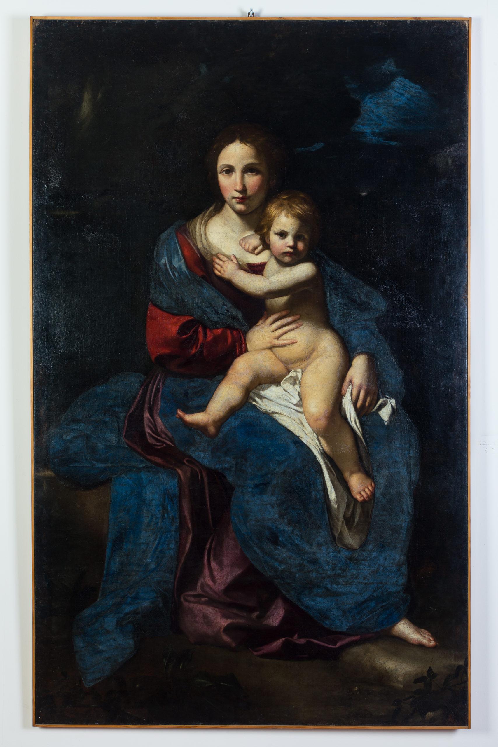 Madonna con Bambino di Bartolomeo Cavarozzi