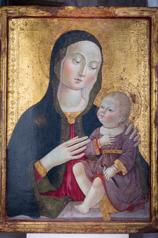 Madonna col bambino di Benvenuto di Giovanni
