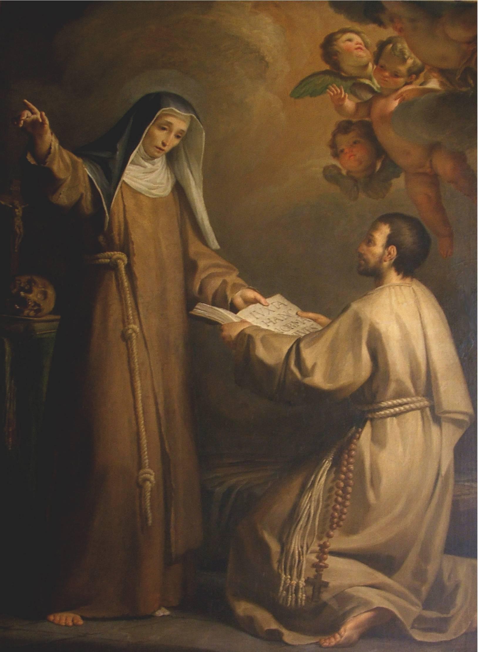 S. Giacinta Marescotti di Domenico Corvi