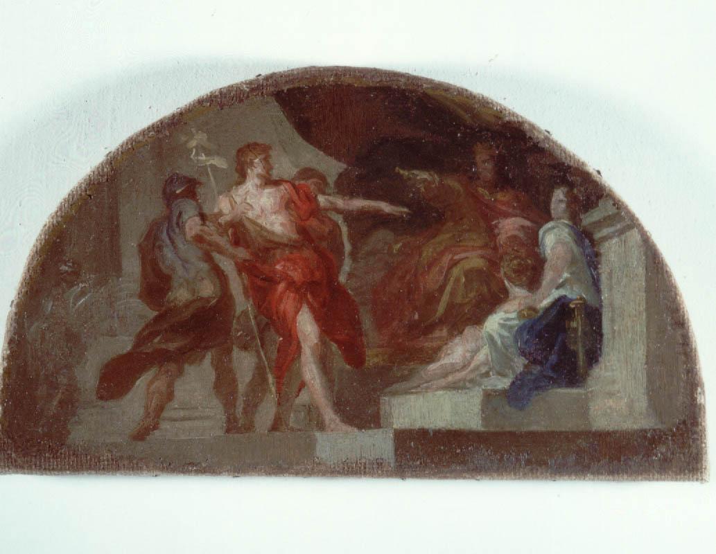Il Battista di fronte a Erode di Domenico Corvi