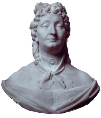 The bust of Letizia Bonaparte