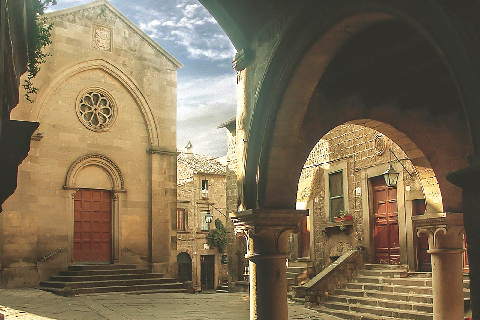 Viterbo's historical center - The San Pellegrino quarter