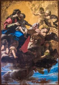 Il trasporto della sacra casa di Ludovico Mazzanti