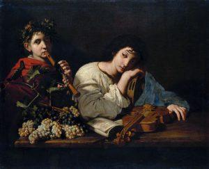 The Sorrows of Aminta *oil on canvas *100 x 120 cm *circa 1625