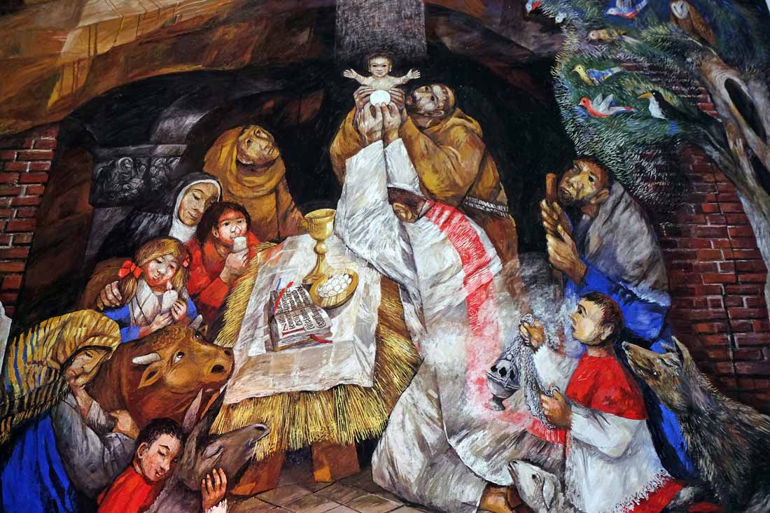 Immagini Antiche Del Natale.I Presepi Piu Antichi Del Mondo Sono Nel Lazio Archeoares